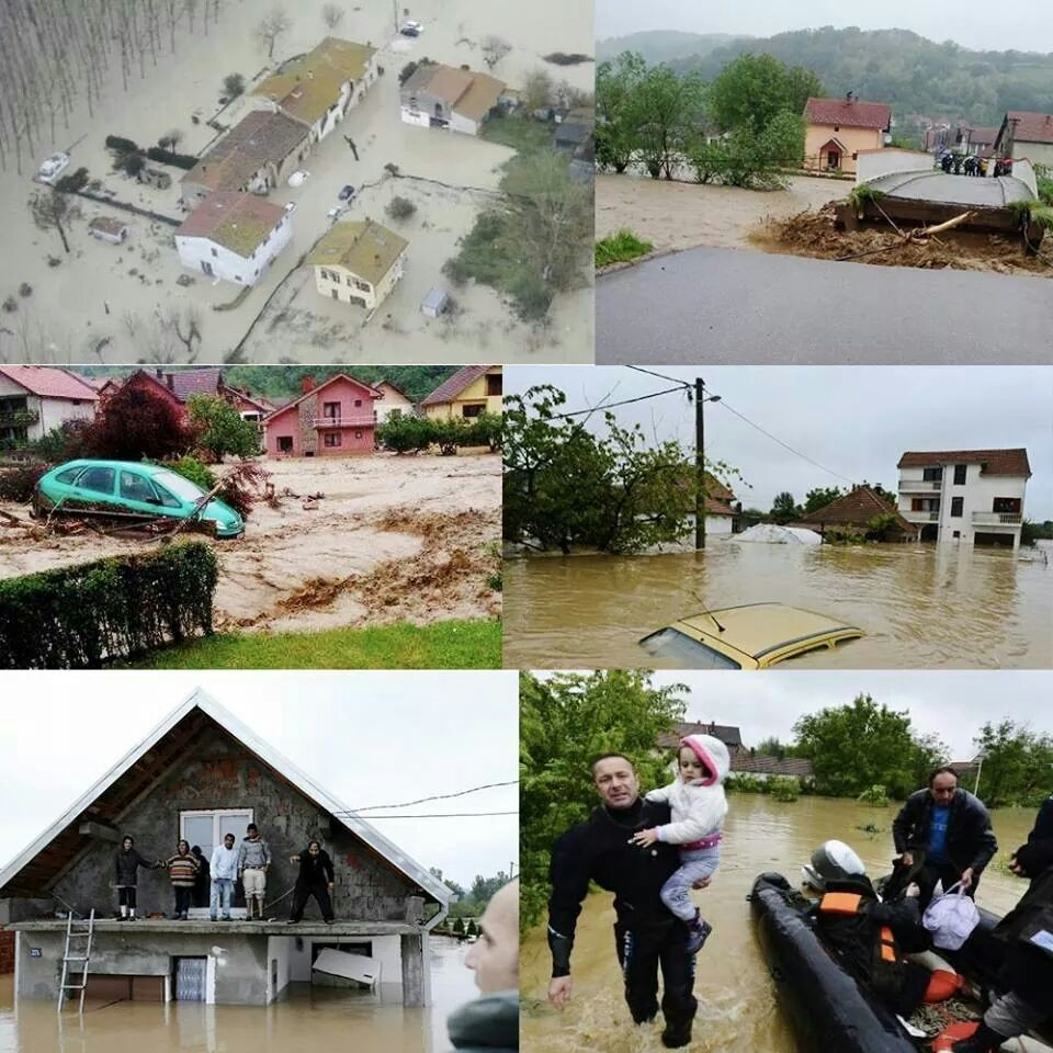 Floods in Serbia
